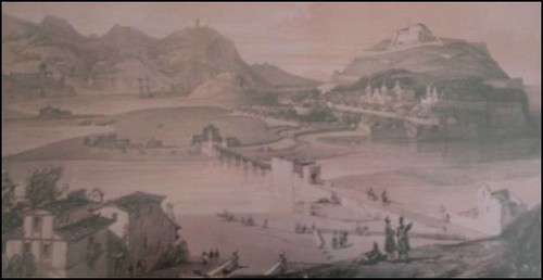 Donostia by Wilkinson, 1835