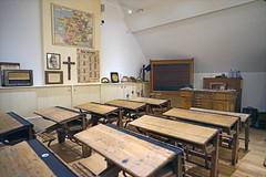 La salle de classe (maison rurale de l'outre-forêt, Kutzenhausen)