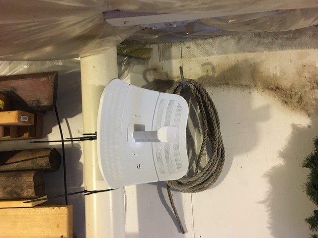 Photo:Ubiquiti Litebeam install By davef3138