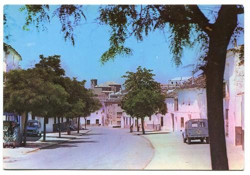 Santa Cruz de la Zarza (Toledo): Calle del Llano= Rue du Llano= Llano Street