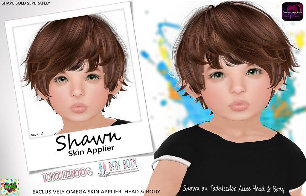 **DoRks** Shawn Skin @ Color Me Cute (Aug) - SecondLifeHub.com
