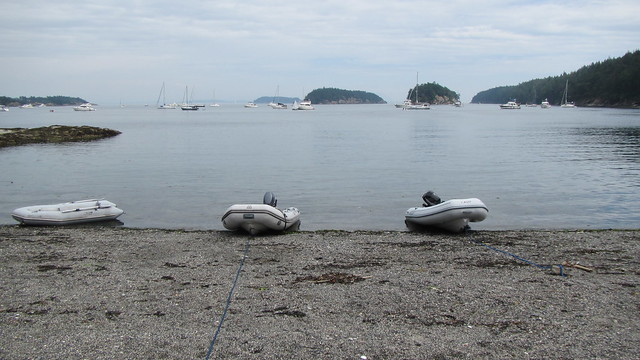 Beached on Sucia Island, Canon POWERSHOT D30