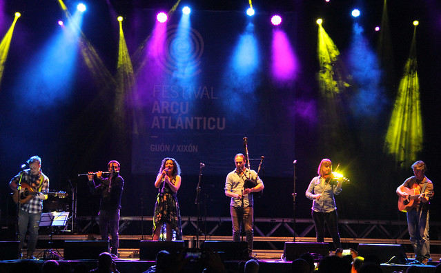 CORQUIÉU EN EL FESTIVAL ARCO ATLÁNTICO - GIJÓN 26.07.17