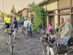 Went on one of those Portland By Cycle rides that @pbotactive puts on, led by  MySisterPort   We rode out to the Swedish Embassy of Shopping, which was good, as I needed some supplies! #portlandbycycle #postpalooza
