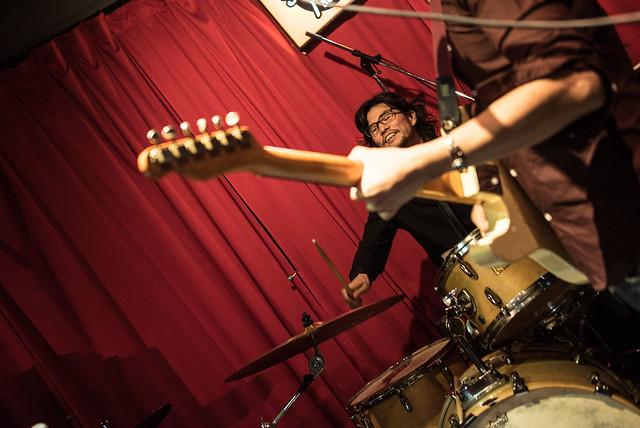 the AstroBluenauts live at Terraplane, Tokyo, 28 Jul 2017 -00379