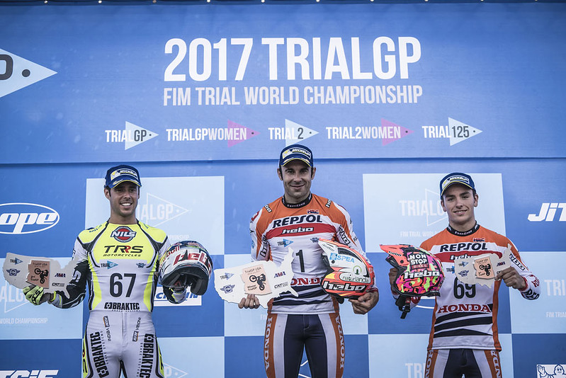 Mundial Trial 2017, GP USA día 1