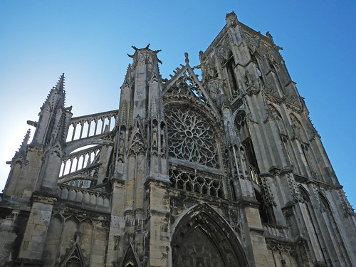 Cathedral in Dieppe, France