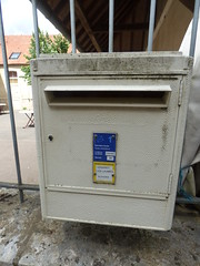 Rue de l'Ancien Couvent, Flavigny-sur-Ozerain - letter box