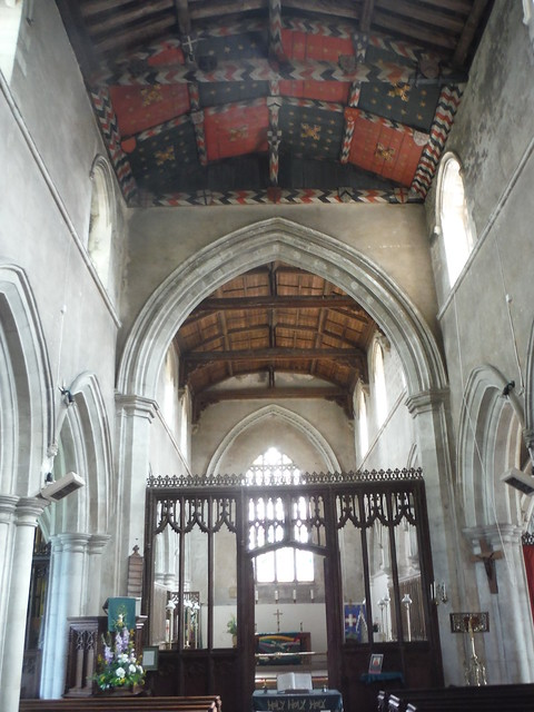 Nave and Rood Screen, All Saints' Church, Shillington