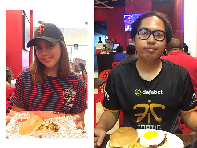 Patty Villegas - The Lifestyle Wanderer - Zarks - Burger - face off