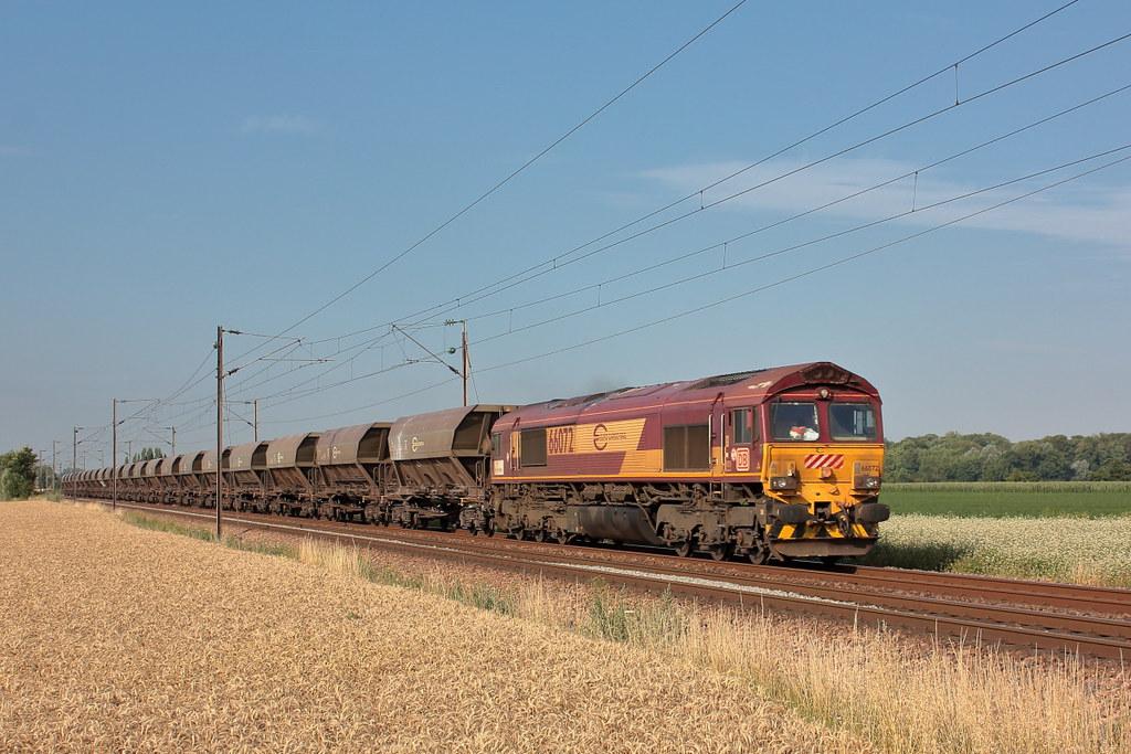 EMD 968702-072 - JT42CWR - ECR 66072 / Morbecque