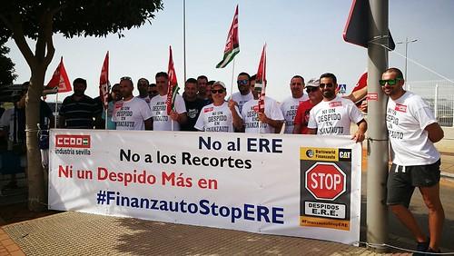 Huelga Finanzauto nuevo ERE plantilla