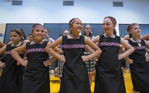 Kapa haka group at the opening ceremony