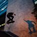 Skateboarder & Shadow Ollie Staircase, Bucaramanga Colombia