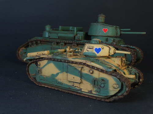 Bolt Action - French Char Tanks