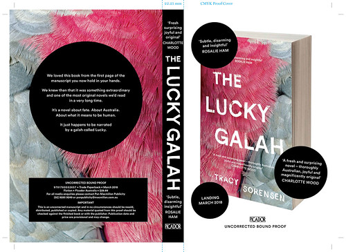 The Lucky Galah - proof cover