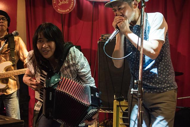the AstroBluenauts live at Terraplane, Tokyo, 28 Jul 2017 -00445