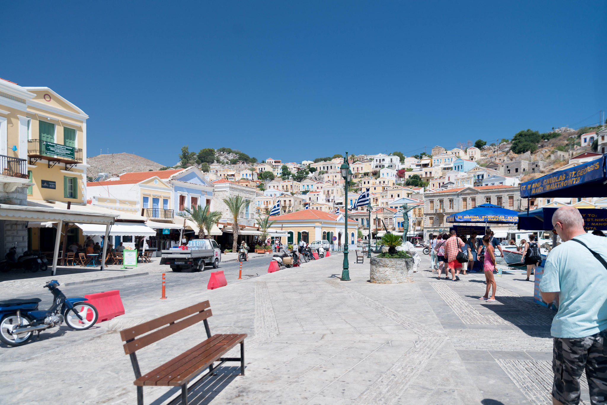 Symi Greece town