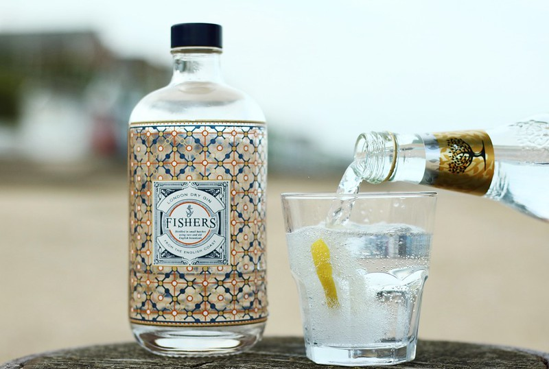 Fishers Gin Southwold Adnams