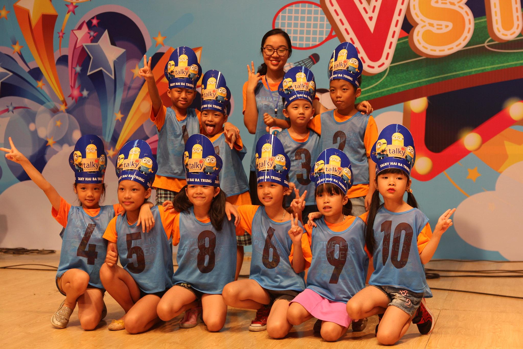 Chuong trinh Vuon cao Vstars - Trung tam Anh ngu Talky