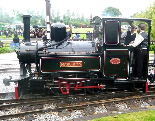 'Marchlyn' 0-4-0T at the 'Statfold Barn Railway'  on 'Dennis Basford's railsroadsrunways.blogspot.co.uk