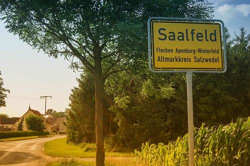 Jawoll, Saalfeld ist überall...