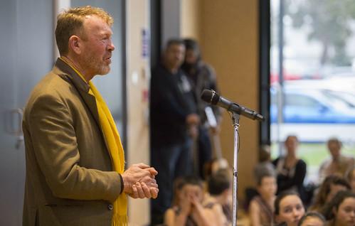 Artist Tim Wraight speaks