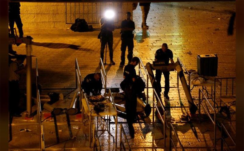 Israel Ganti Detektor Logam dengan Pengintaian Cerdas di Yerusalem