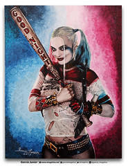 Harley Quinn Suicide Squad Art