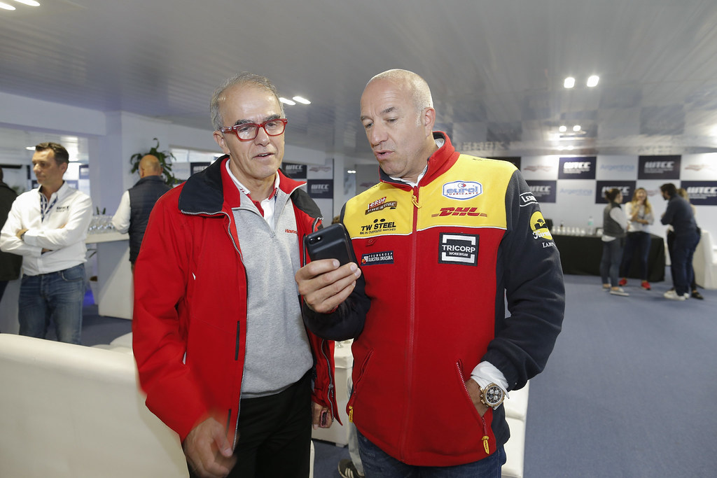 DE BRAEKELEER William (bel) Motorsport Manager Honda Europe ambiance portrait CORONEL Tom (ned) Chevrolet RML Cruze team ROAL Motorsport ambiance portrait during the 2017 FIA WTCC World Touring Car Race of Argentina at Termas de Rio Hondo, Argentina on july 14 to 16 - Photo Francois Flamand / DPPI