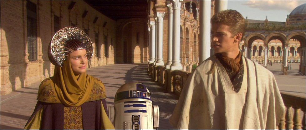Screen capture from Star Wars Episode II: Attack of the Clones