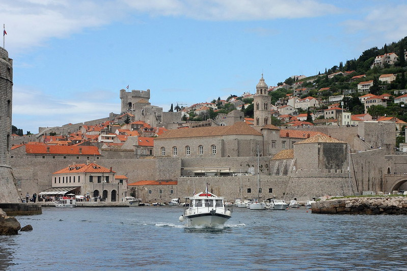 DUBROVNIK from The Sea.