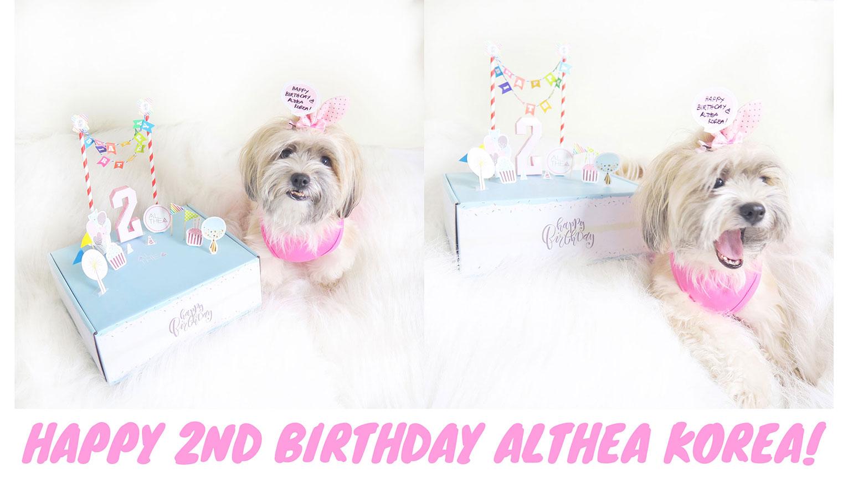 2 Althea korea birthday Box Haul Review Unboxing - She Sings Beauty by Gen-zel