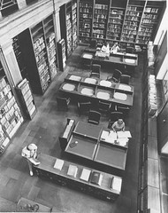 Photograph of the Library at the National Archives