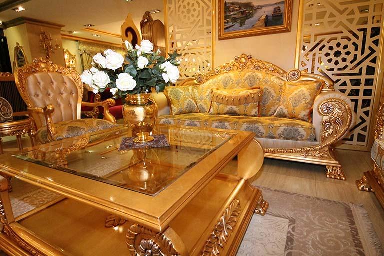全木家具、富麗奢華的客廳裝潢