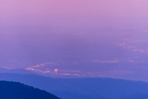 appalachia greatsmokymountainnp greatsmokymountainwheel pigeonforge smokymountainnationalpark tennessee theisland sunset dusk twilight sevierville