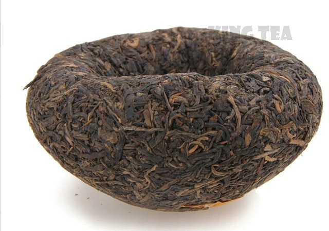 Free Shipping 2007 XiaGuan Golden Boxed 8100 Tuo Bowl 250g * 4 = 1000g YunNan MengHai Organic Pu'er Raw Tea Weight Loss Slim Beauty Sheng Cha