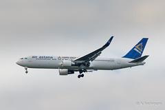Boeing 767-300ER P4-KEA AirAstana 20170520 Frankfurt
