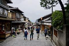 Straße zum Kiyomizu-Tempel