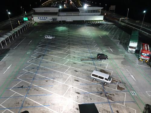 海ほたるの駐車場