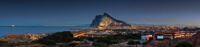 Gibraltar/ La Línea de la Concepción - Panorama