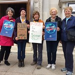 Cedar Lane Members Gathered Together at the March for Science, 4.22.17