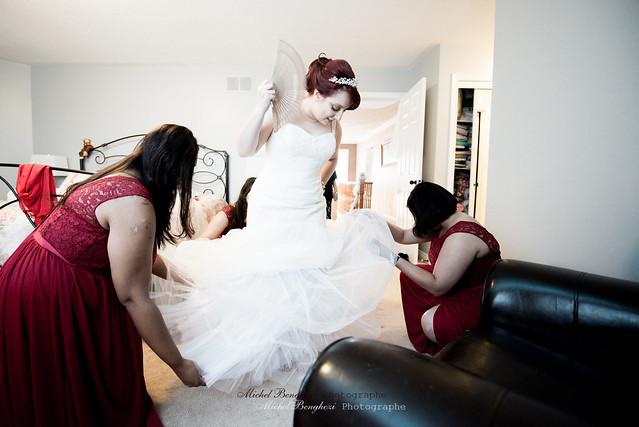 A Wedding in Toronto : Preparation