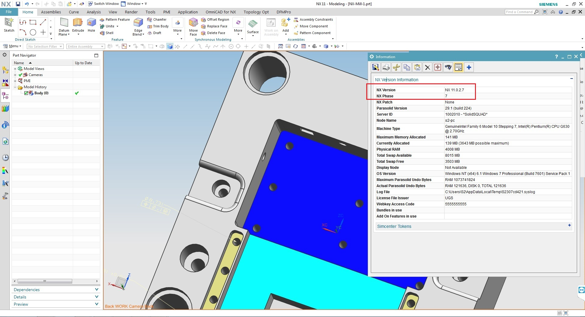 Design with Siemens PLM NX 11.0.2 update win64 full