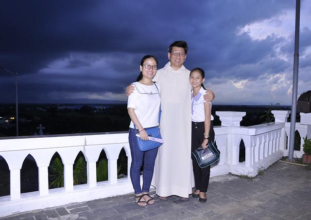 Cha Gioan Phanxico Vũ Thế Toàn Dâng Lễ Tại Đồi Mẹ Trà Kiệu 22/7/2017