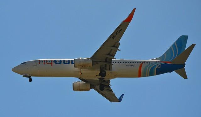 A6-FDU flydubai