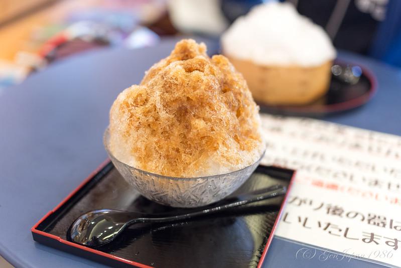 餅惣 かき氷