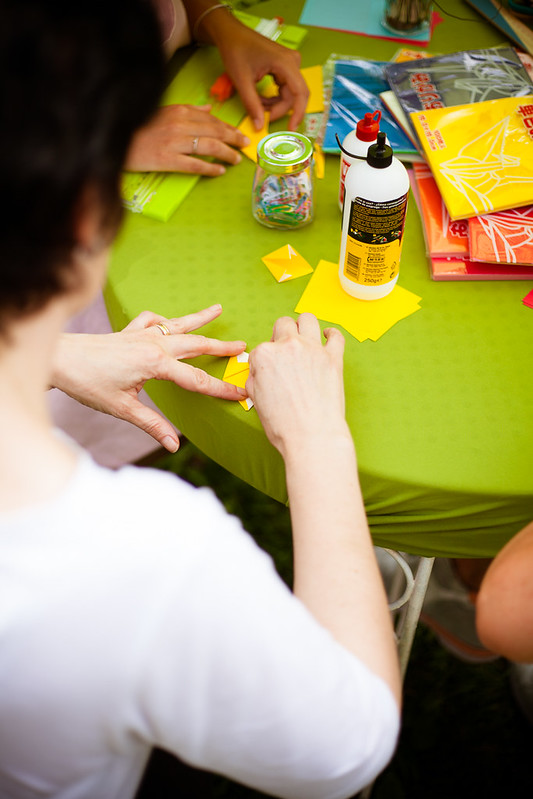 Laboratorio creativo con Fiorigami