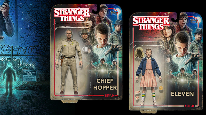 Stranger Things McFarlane Toys Ad