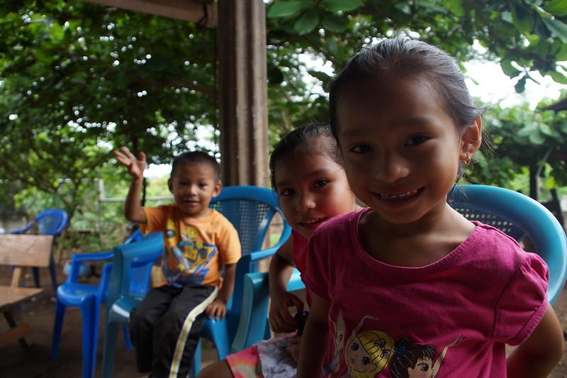 Pdta. visita a beneficiarios/as de Cantón San Felipe